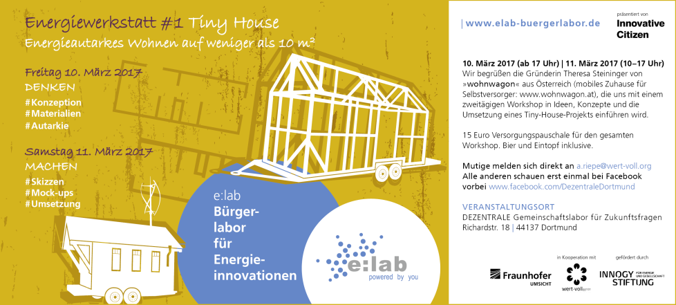Energiewerkstatt #1 – Tiny House